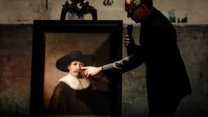 3 Boyutlu Rembrandt Portresi